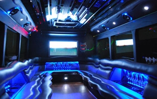 Interior - Party Bus AZ