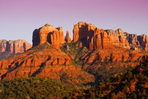 cathedral rock in sedona - scottsdale limo service