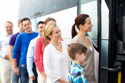 Group travel -charter bus companies