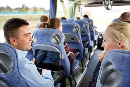 How much does a charter bus cost?