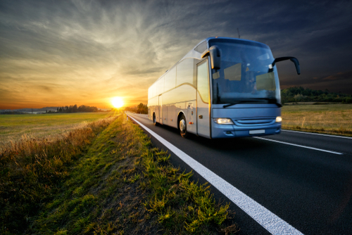 How do I rent a charter bus in Scottsdale, AZ