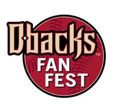Arizona Diamondbacks dbacks fan fest logo