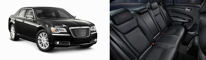 Rent a Chrysler 300 for corporate travel, weddings, personal chauffeur service, or another AZLIMO.COM special occasions