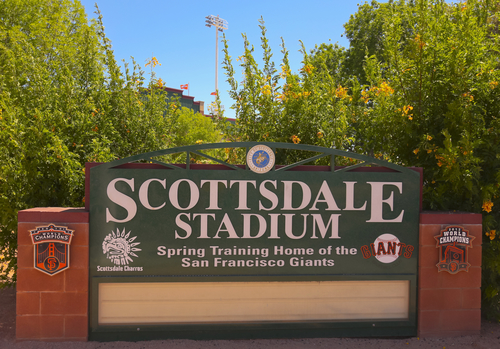 Scottsdale Stadium - Where is spring training in Arizona