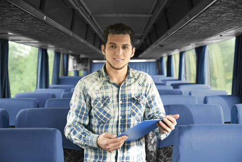 rent a charter bus near me