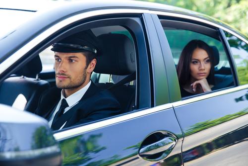 What do chauffeurs do while waiting